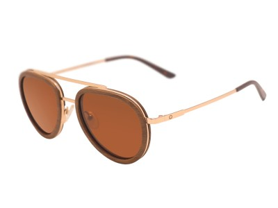 Aviator - Walnut Steel