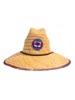 Hat Straw - CR Flag