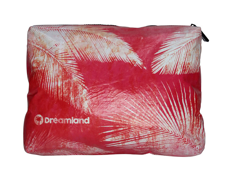 Pouch Gde. - Palm Red