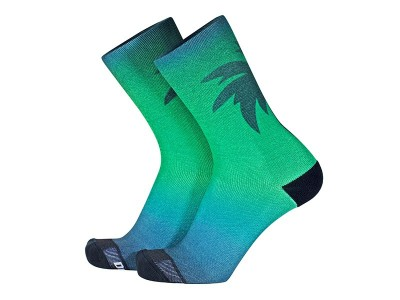 Calcetines Print - Sunset Green