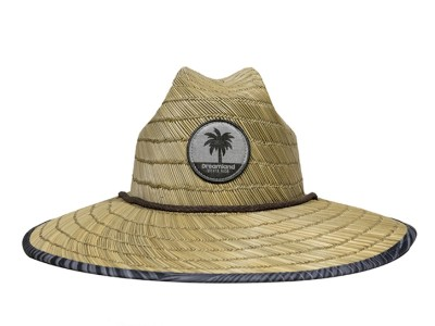 Hat Straw - Palm Grey