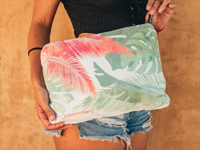 Bolso Pouch Gde. - Nature Mix