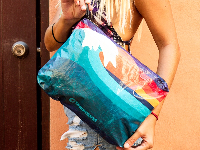 Bolso Pouch Gde. - Wave