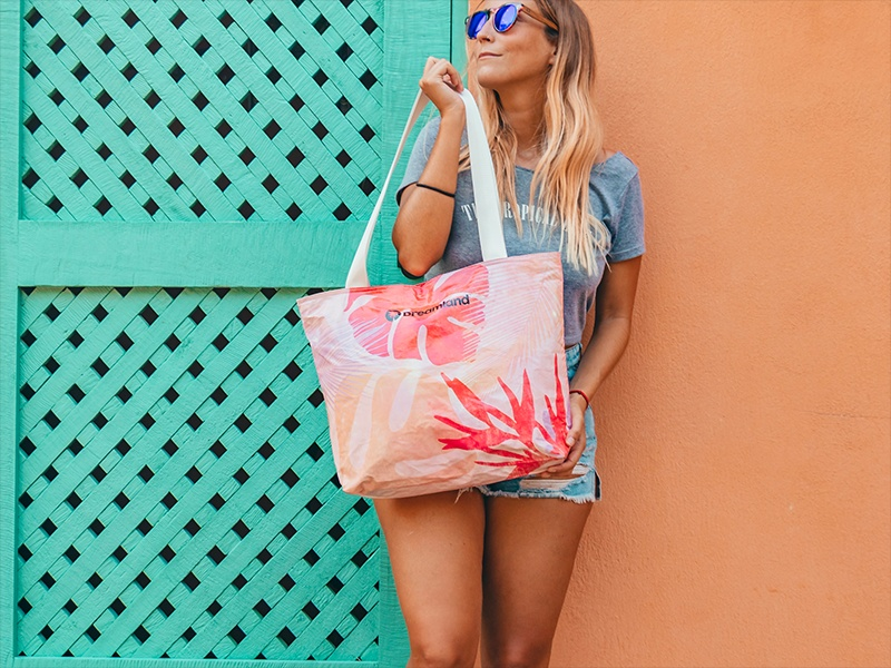 Tote - Nature Coral Mix