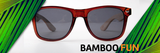 Dreamland Sunglasses - Bamboo Fun